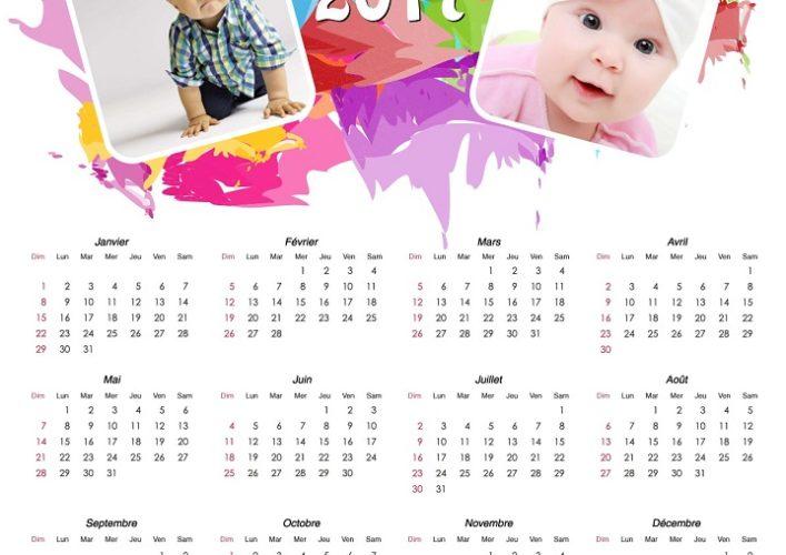 Calendario Personalizado Editar Fotos Gratis